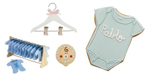 Percha de pinza pantálón de pasitoapasito, galletas de carlota's y detalles perfumados de angel o demonio