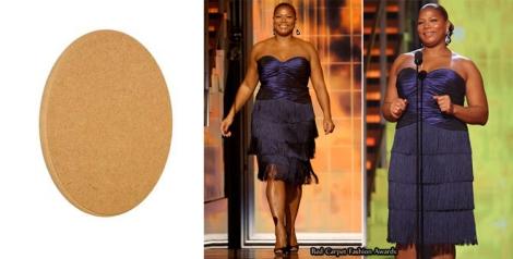Imagen de Queen Latifah en Foros Vogue. Con cuerpo ovalado.