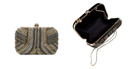 Dos clutch de Zara
