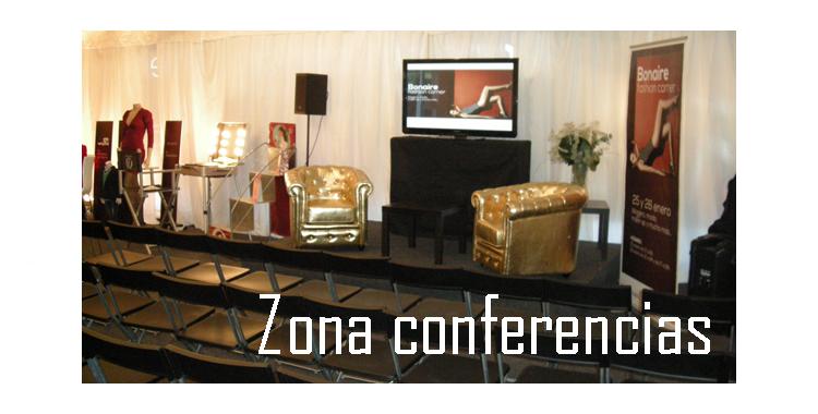Zona habilitada para conferencias