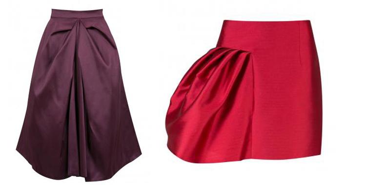 Faldas con volumen de Amaya Arzuaga