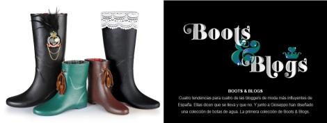Botas propuestas por bloggers para la edición especial de botas de agua de invierno 2013 de Gioseppo