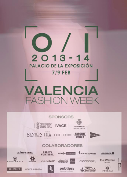 Cartel  XIV Valencia Fashion Week