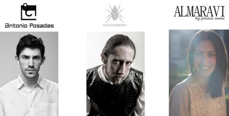 Diseñadores inauguración XVI VFW