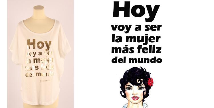 Feliz Mundo Hoy Voy Te La Mujer Camiseta Mas Ser Destaca Del Promesas Dolores A FHZqAw8