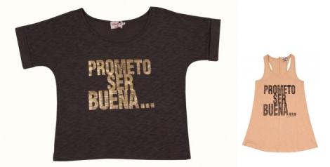 Camiseta de algodón de Dolores Promesas