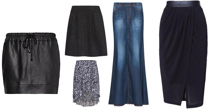Faldas con volumen de Mango y Zara