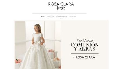 Homepage Rosa Clarà First