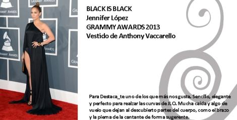 Jennifer López espectacular con un diseño de Anthony Vaccarello