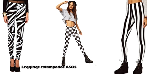 Leggings estampados de ASOS