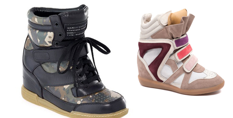 Sneakers de Marc Jacobs e Isabel Marant