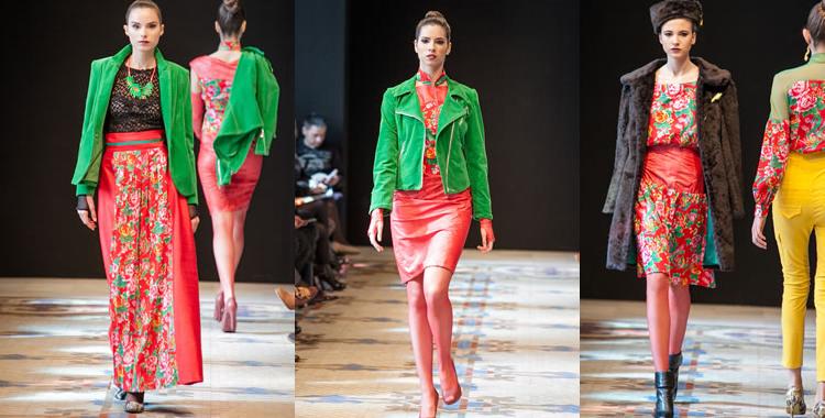 Algunos de los modelos presentados por Susa Plaza