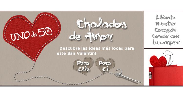 Banner de San Valentín que encontramos en la página web de Unode50