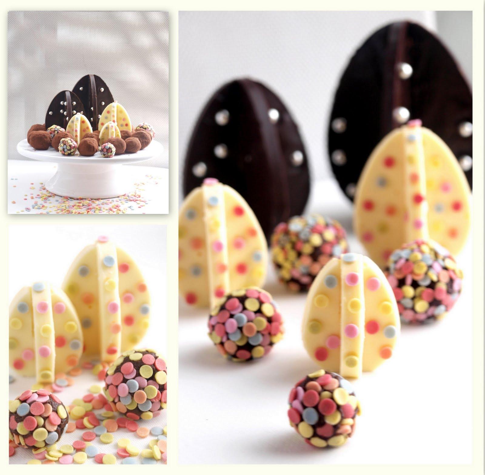 Originales huevos de pascua de Bocados Dulces y Salados Blogspot