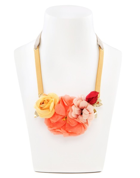 Detalle del collar Flower pot collection de Bimba y Lola