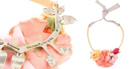 Collar de flores de Bimba y lola primavera verano 2013