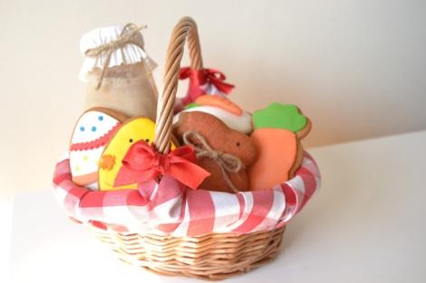 Presentación de la cesta de La Chica de la Cesta de Caramelo