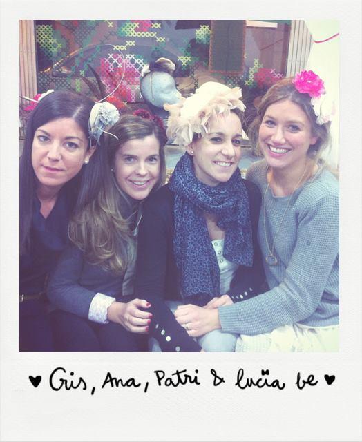 La foto en la que descubrí a Lucía Be. Pueden ver a mi amiga Patri (segunda a la derecha)