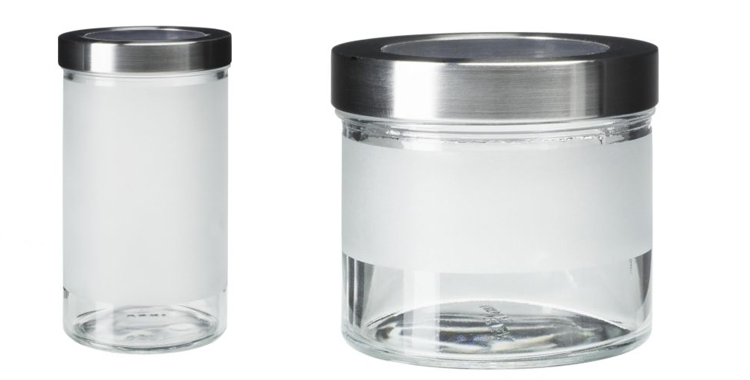 Tarro de cristal de la colección Droppar de Ikea
