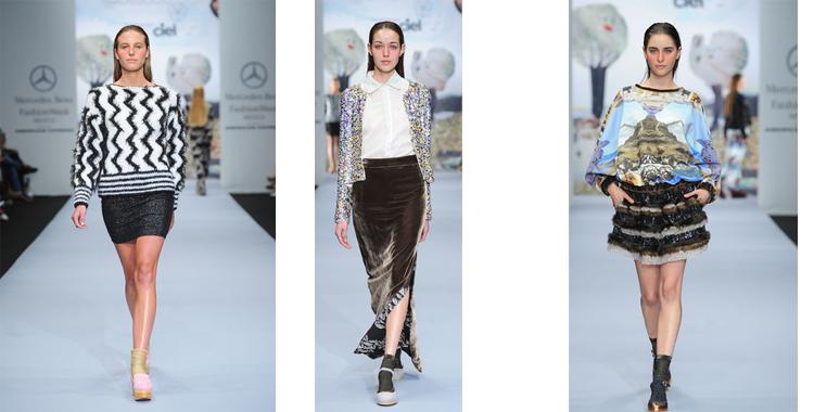 Alejandra Quesada con sus propuestas variadas en formas y tejidos