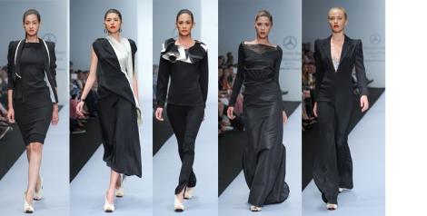 Alejandro Carlin dedica gran parte de su colección al negro
