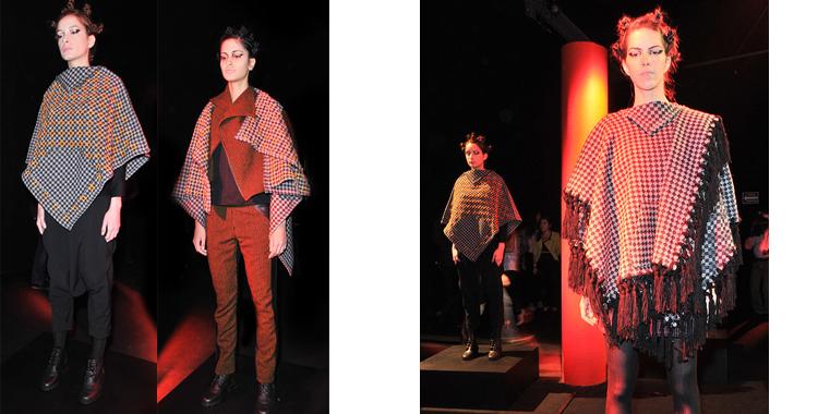 Carla Fernández también apuesta por las chaquetas holgadas con mangas amplias