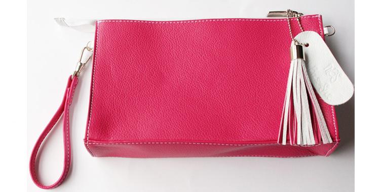 Clutch o bolso de mano de la colección Binomio