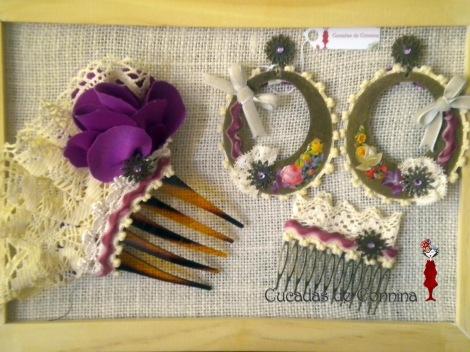 Complementos flamencos realizados artesanalmente