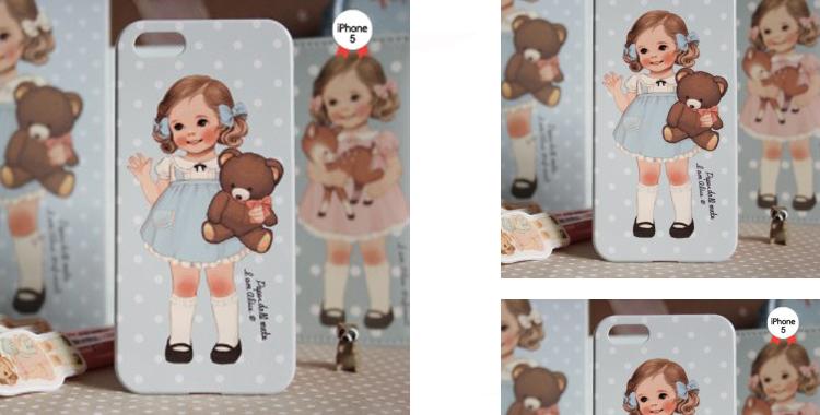 Dulces imágenes vintage para customizar el teléfono