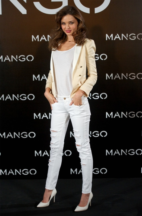 Miranda Kerr para mango