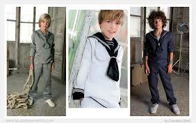 Trajes de marinero de lino de El Corte Inglés en tonos  oscuros es la opción que más nos gusta