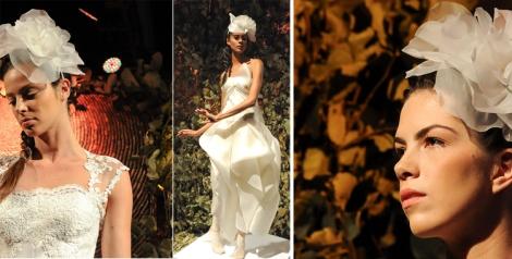 Vestido de novia y más tocados de Macario Jiménez