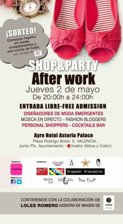 Shop and party After Work en el Astoria Palace