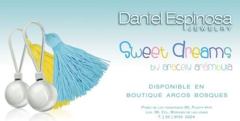Imagen promocional de la nueva colección de Aracely Arámbula para Daniel Espinosa