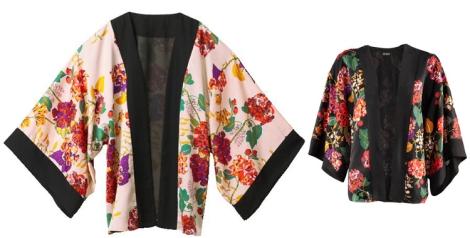 Kimonos de H&M de la colección de 2011