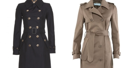 Trench de Guess by Marciano y Burberry London