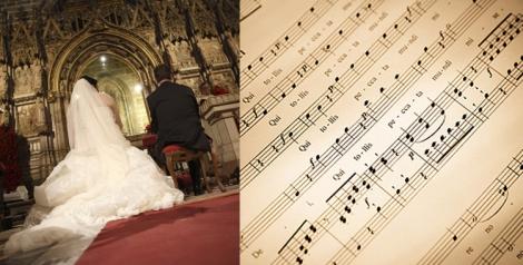 Imagenes de vademusica.com y Fotostar para Paloma Silla. La música también se utiliza para separar momentos y marcar el ritmo de la ceremonia.