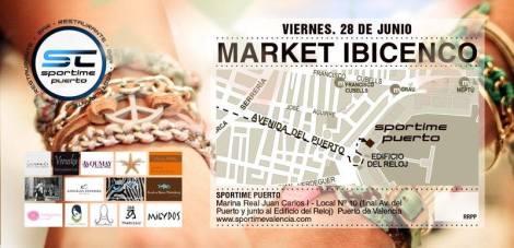 Market ibicenco en el puerto de Valencia para el 29 de junio de 2013
