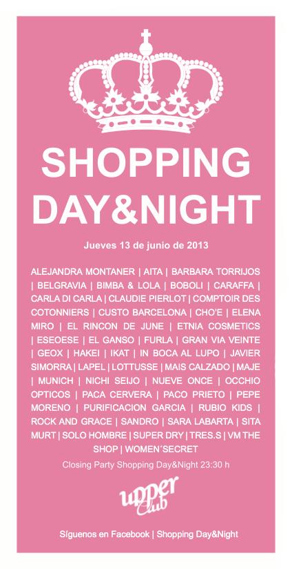 Shopping day and night organizado por los comercios del centro de Valencia
