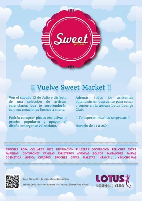 Nueva edición de Sweet Market