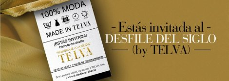 Telva celebra un desfile homenaje a la moda en su 50 aniversario
