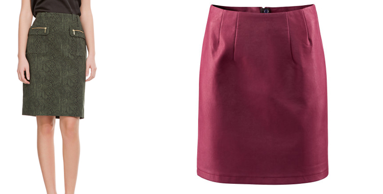d9330d6169 faldas rectas de vestir