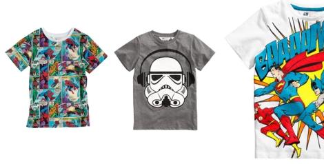 Camisetas de H&M