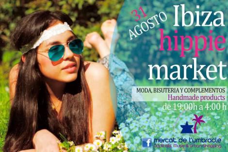 Ibiza hippie market en el Mercat de l'Umbracle
