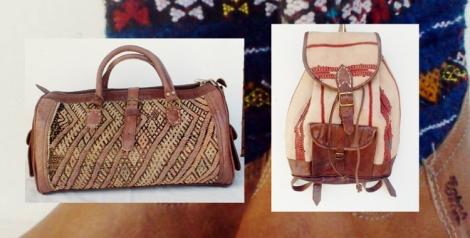 Botas y bolsos de Sabah Ibiza