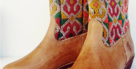 Kilim boots. Imagen de Sabah Ibiza