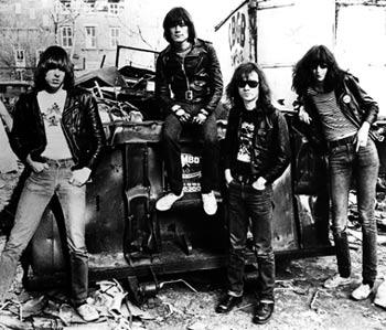 Imagen de taringa.net. Los Ramones