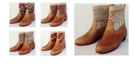 Kilim boots. Modelos disponibles en Sabah Ibiza.