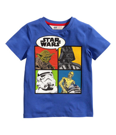 Camiseta Star Wars de H&M