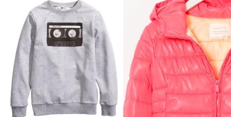 Opción retro de H&M y Zara Kids